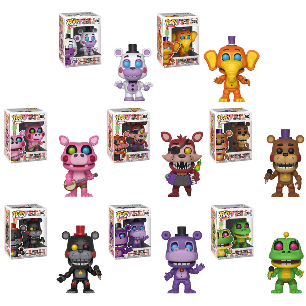 Vinyl Figure and Bundled with Pop BOX PROTECTOR CASE Five Nights at Freddys Sister Location Funtime Freddy Pop Funko
