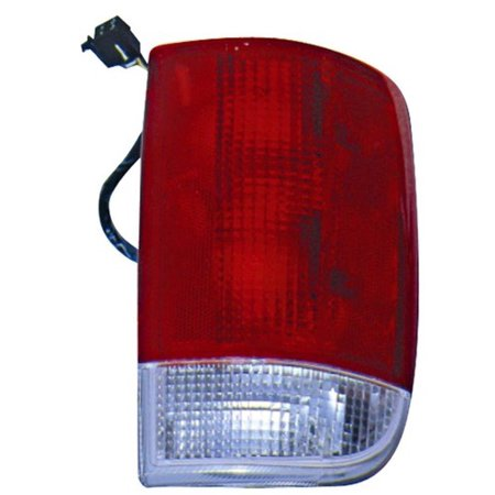Go-Parts » 1996 - 2001 Oldsmobile Bravada Rear Tail Light Lamp Assembly / Lens / Cover - Left (Driver) Side Performance GM2800127 Replacement For Oldsmobile Bravada