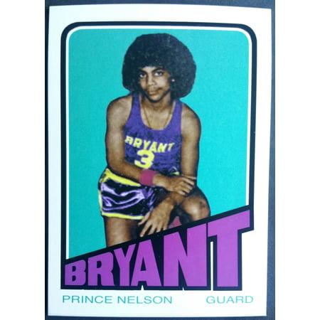 Prince Nelson Bryant Junior High Novelty Basketball Trading Card Kobe Bryant 2008 Mvp Basketball