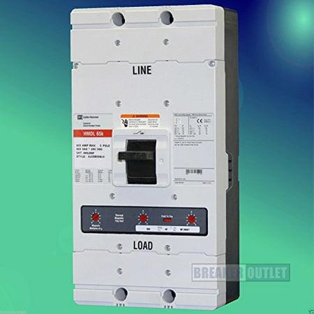 Eaton Cutler Hammer HMDL3800F 3 Pole 800 Amp 600v 65kA Circuit Breaker HMDL