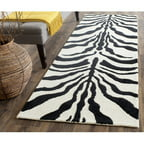 "Safavieh Cambridge Leah Hand-Tufted Wool 2'6"" X 8' Runner Rug"