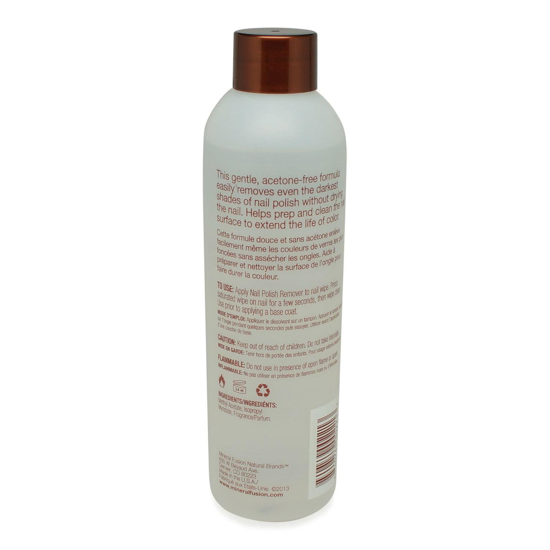 Mineral Fusion Nail Polish Remover, 6 Ounce - Walmart.com