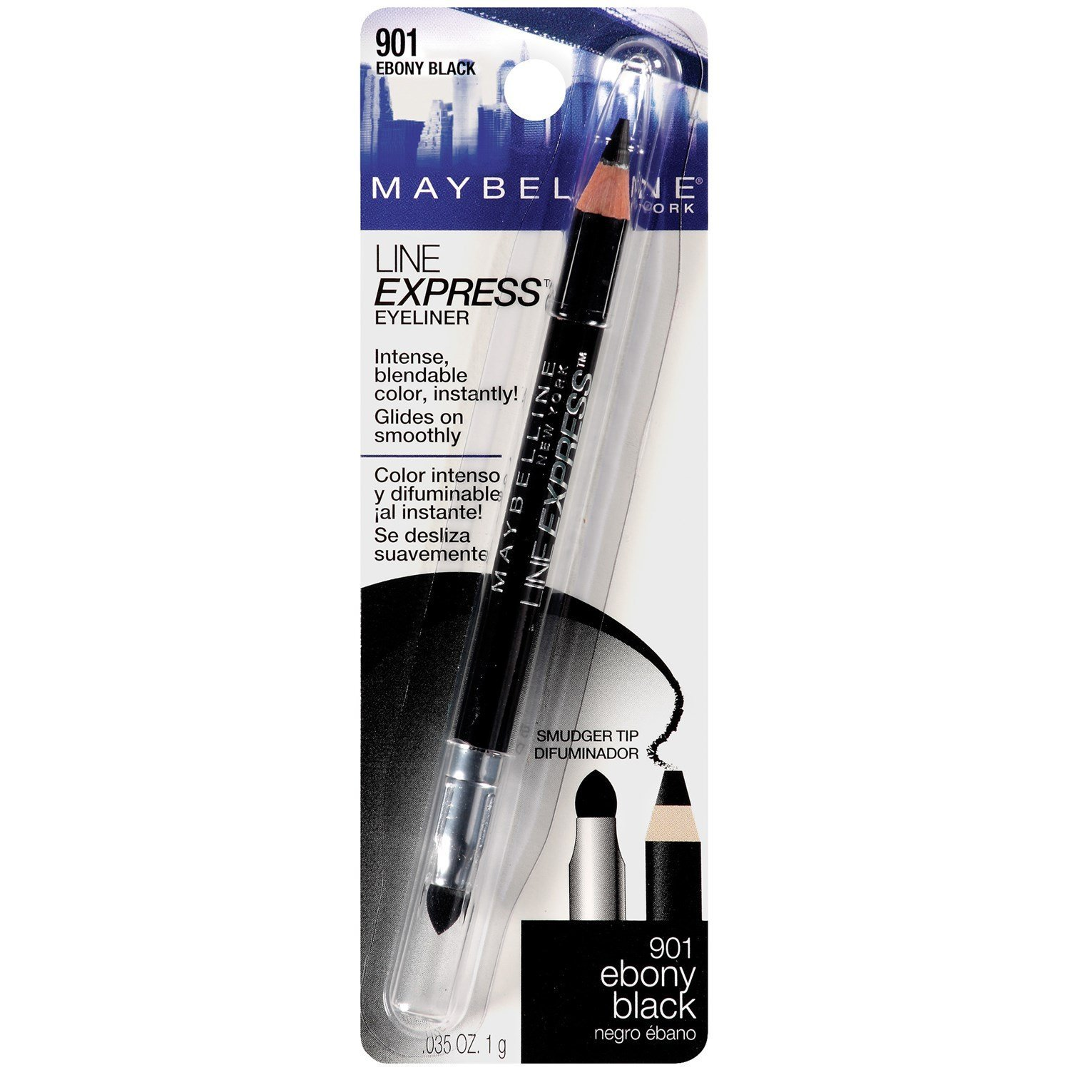 Maybelline Line Express Eyeliner - Ebony Black - 2 Pack, Quality eye liners By Maybelline New York