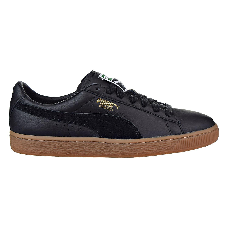 PUMA - Puma Basket Classic Gum Deluxe Men's Sneakers Puma Black 365366-02 -  Walmart.com