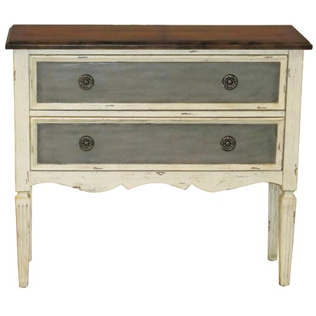 Sofaweb Com Hand Painted Distressed Vintage Cream Accent Chest
