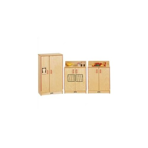 Jonti-Craft 3 Piece Birch Kitchen Set