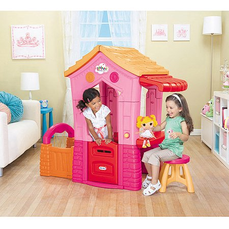 Fun playhouses for children for Little tikes house