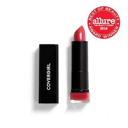 COVERGIRL Exhibitionist Cream Lipstick, 295 Succulent Cherry - Walmart.com