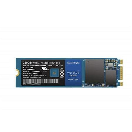 Western Digital SSD 250GB WD Blue SN500 NVMe M.2 2280 PCI ...