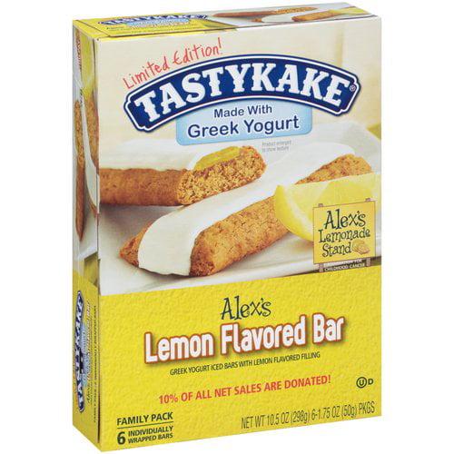 Tastykake Tasty Kake Lemon Fruit And Yogurt Bar