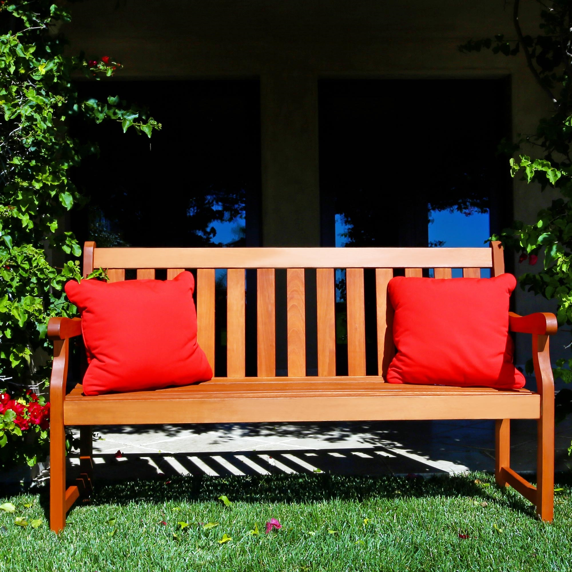 Awesome Baltic 5 Foot Eucalyptus Wood Garden Bench Ibusinesslaw Wood Chair Design Ideas Ibusinesslaworg
