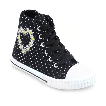 Om Girl Dotti High Top Sneakers