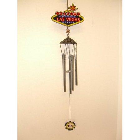 Great World Company Las Vegas Souvenir Wind Chime
