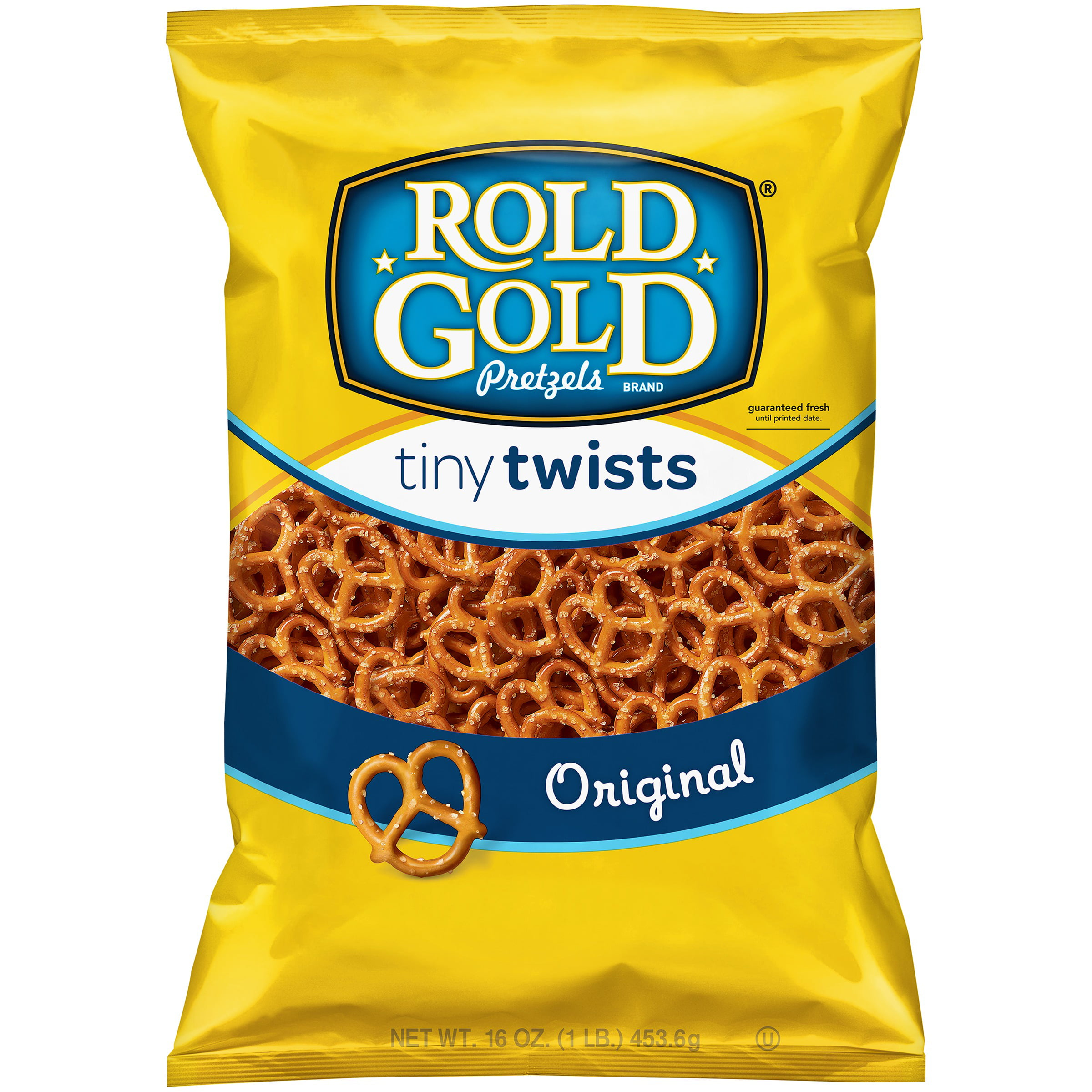 Rold Gold Tiny Twists Original Pretzels 16.0 oz. Bag by Frito-Lay, Inc.