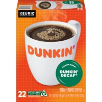 Dunkin' Decaf K-Cup Pods, 8.14-Ounce, 22-Count (Packaging May Vary)