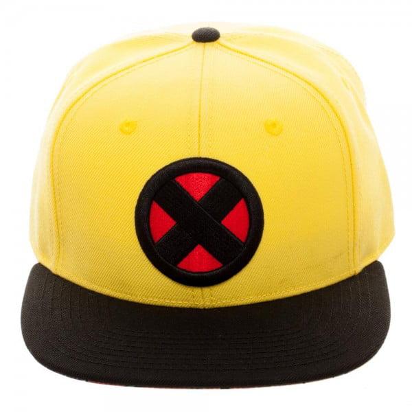 Baseball Cap X-Men Wolverine Yellow Snapback New Licensed sb50plxmn by BioWorld