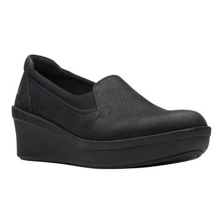 Women's Clarks Step Rose Moon Wedge Slip On