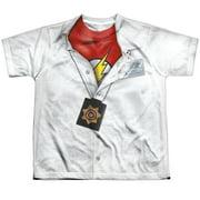 Jla - Im Flash - Youth Short Sleeve Shirt - Medium