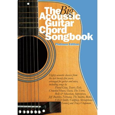 The Big Acoustic Guitar Chord Songbook (Platinum Edition) - eBook