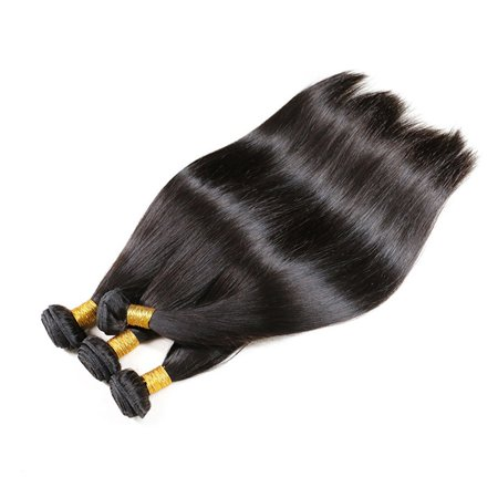 Straight Hair Weave Bundles Deals Double Drawn Raw Unprocessed Virgin Wear - image 2 of 9