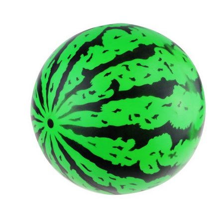 9 Inch Kid Summer Beach Party Swimming Inflatable Watermelon Ball Toy Gift (Watermelon Ball)