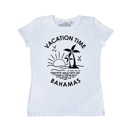 Vacation Time in Bahamas Women's T-Shirt