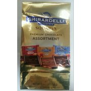 Ghirardelli Chocolate Assortment Large Square Chocolate, 8.6 Oz.