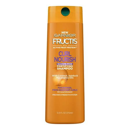 Garnier Hair Care Fructis Triple Nutrition Curl Nourish Shampoo, 12.5 oz, 2 Pack