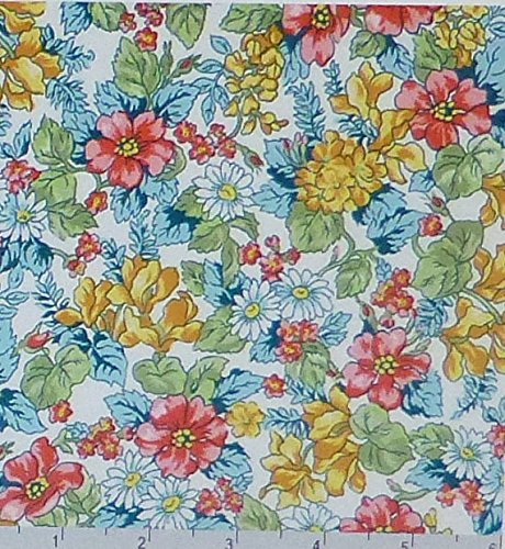 London Calling 6~Spring~ by Robert Kaufman Cotton Fabric by the Yard