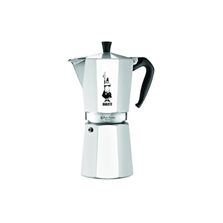 The Original Bialetti Moka Express Made in Italy 12-Cup Stovetop Espresso Maker with Patented
