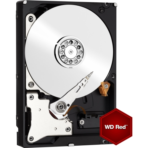 """WD WD20EFRX WD Red WD20EFRX 2 TB 3.5"""" Internal Hard Drive - SATA - 64 MB Buffer - 1 Pack"""