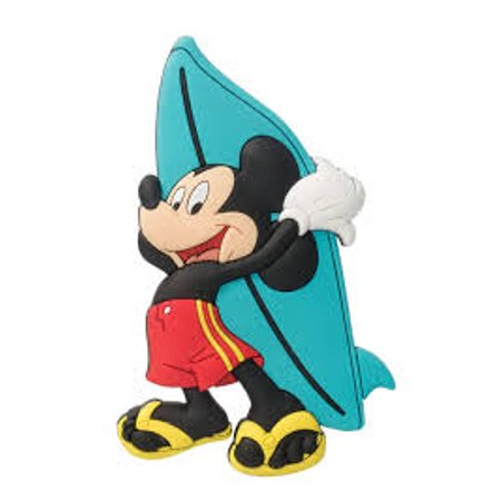 Magnet - Disney - Mickey Surfing B  Soft Touch Figure New Licensed 85169