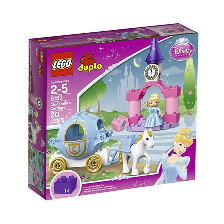 LEGO DUPLO Disney Princess Cinderella's Carriage 6153 - Cardboard Princess Carriage