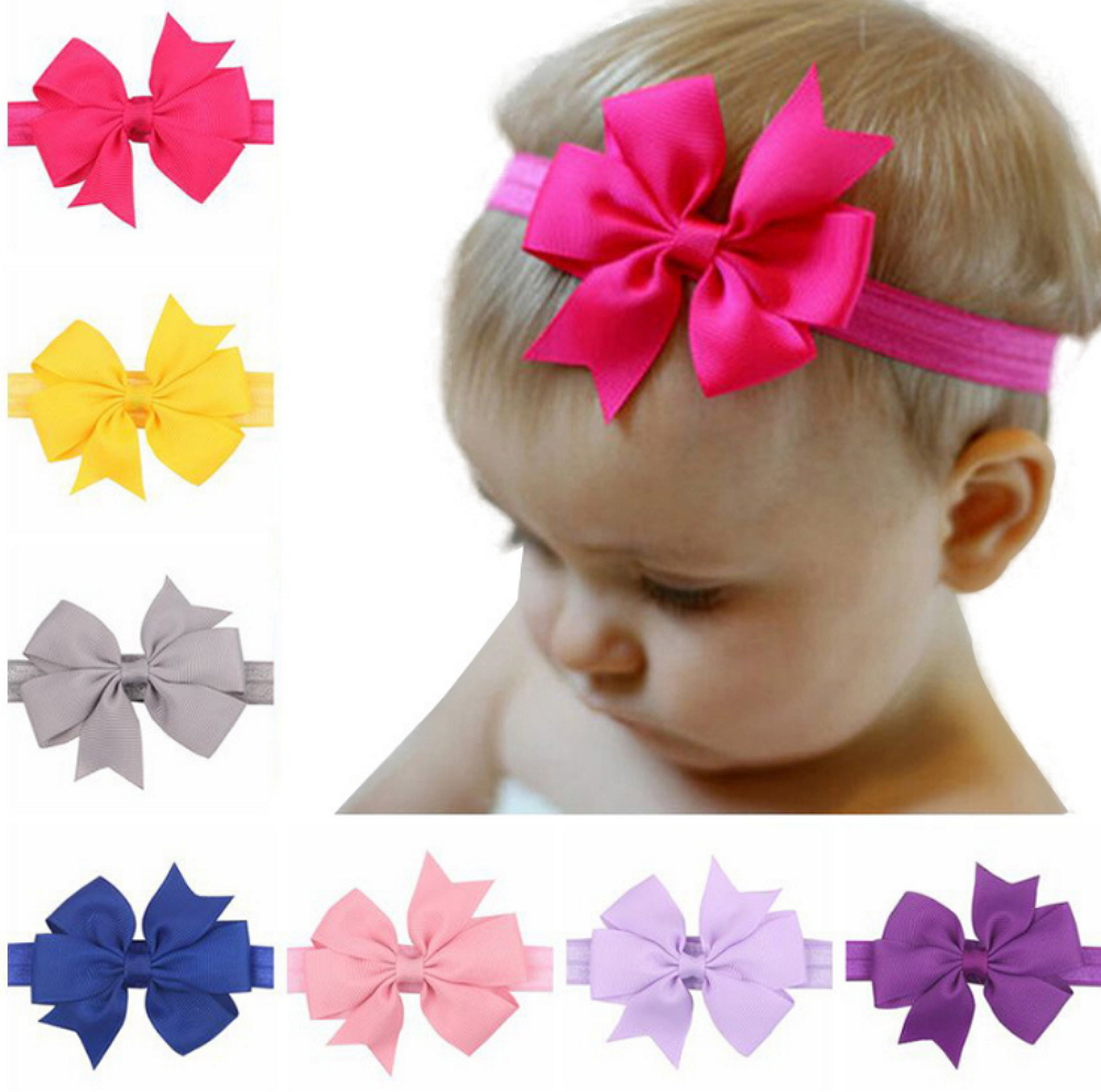 Hair Accessories Clothing, Shoes & Accessories Hair Bow Wave For 6 Months To 3 Years Baby Hair Accessory Hairband Head Wears