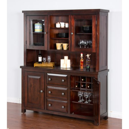 Sunny Designs Vineyard Buffet with Hutch