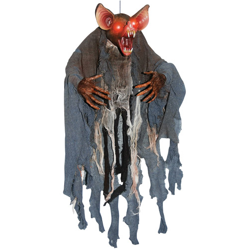 3' Hanging Bat Man Halloween Decoration