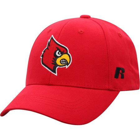 Men's Russell Athletic Red Louisville Cardinals Endless Adjustable Hat - (Hat Cardinal's)