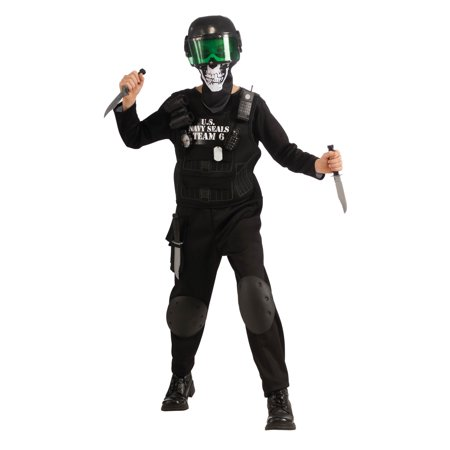 Black Team 6 Kids Costume](Black Costume Ideas)