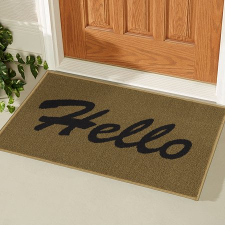 Ottomanson USA Rugs Collection Hello Indoor Doormat