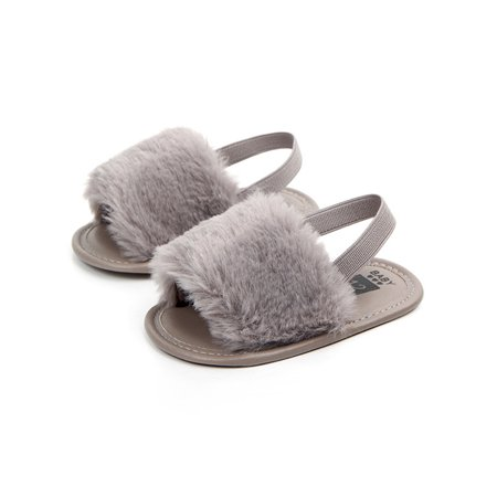 Sweetsmile Toddler Baby Girl Kid Soft Sole Breathable Anti-slip Shoes Simple Elastic Sandal