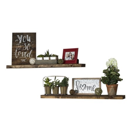 Del Hutson Designs True Floating Shelf (Set of 2)