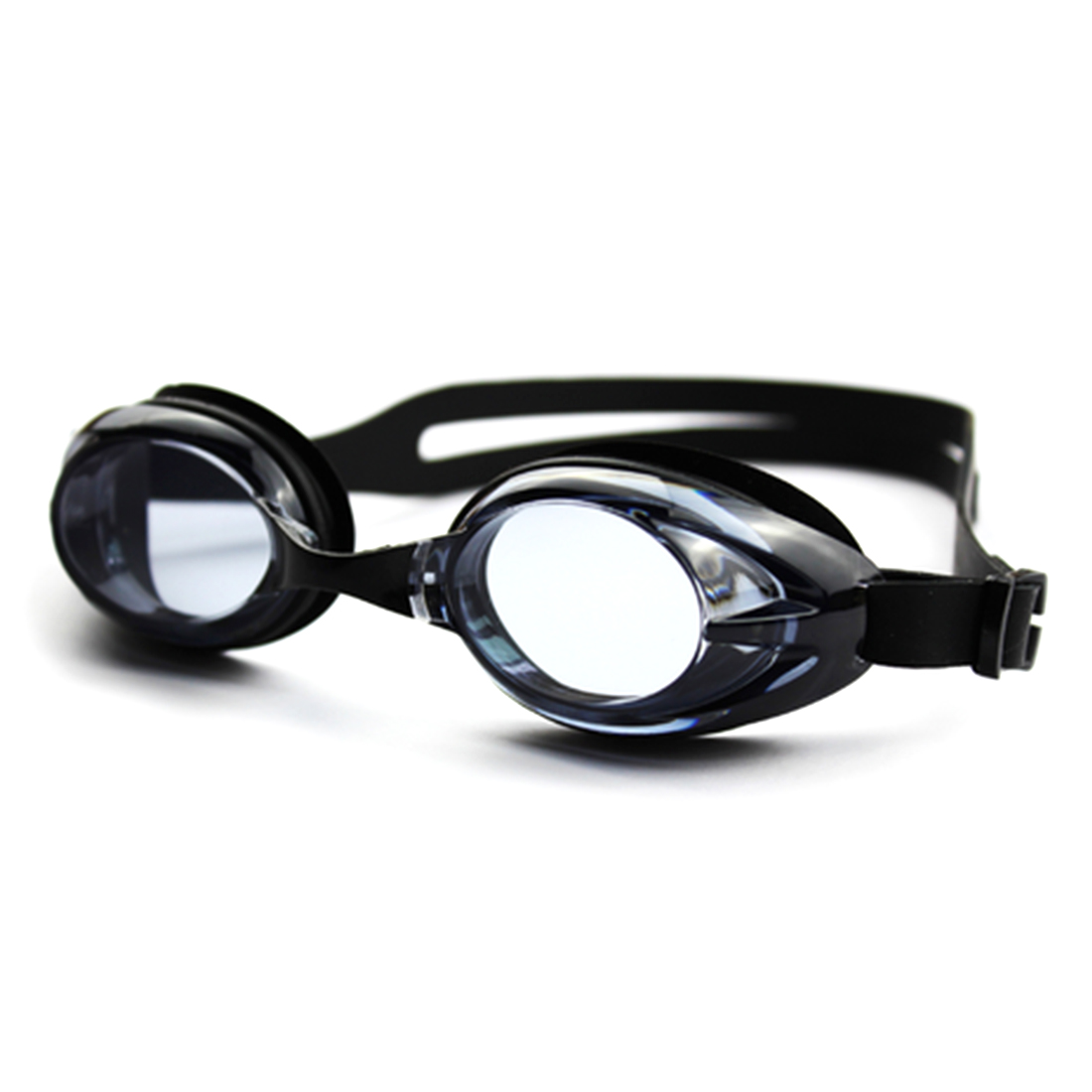 Children Diving Goggles Waterproof Anti-fog UV Protection Electroplating Swimming Glasses Black by