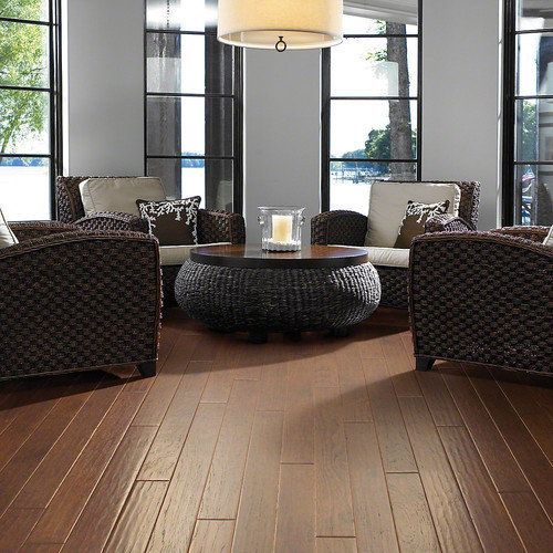Shaw Floors Kingwood 5'' Engineered Hickory Hardwood Flooring in Thistle