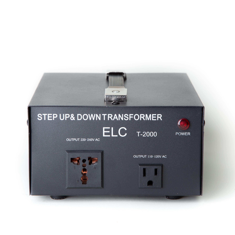 PYLE PVTC320U Step Up /& Down Voltage Converter Transformer w// USB Charging Port