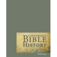 Concordia's Bible History Teacher Book