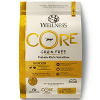 Wellness CORE Natural Grain Free Dry Cat Food, Indoor Chicken &Turkey Recipe, 11-Pound Bag