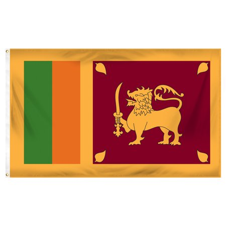 Sri Lanka 3ft x 5ft Printed Polyester Flag