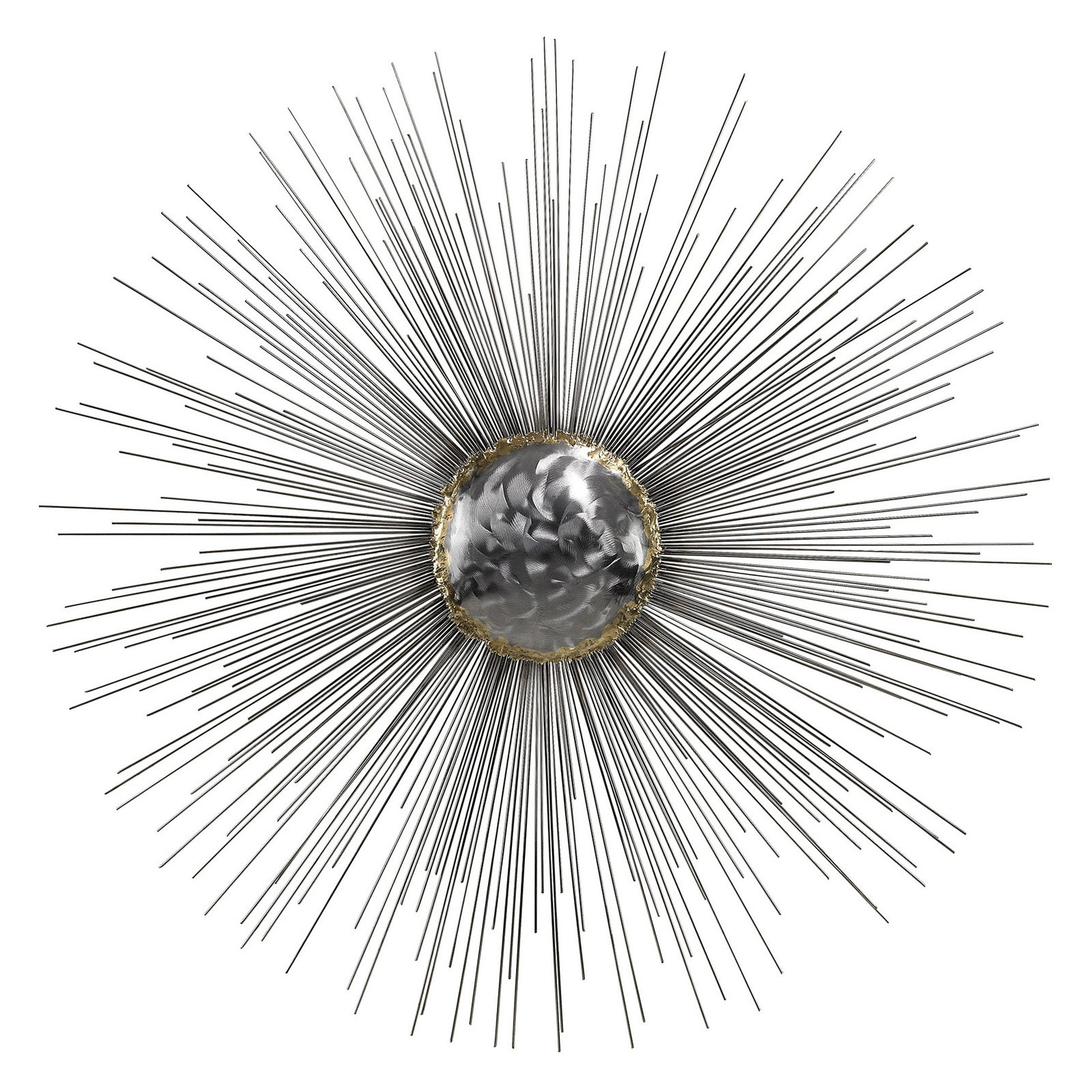 Dimond Home Silver Sun Metal Wall Art