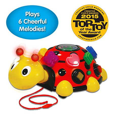 The Learning Journey Early Learning - Funtime Activity Ladybug - Baby & Toddler Toys & Gifts for Boys & Girls Ages 12 months and Up - Award-Winning Toy - image 1 of 4