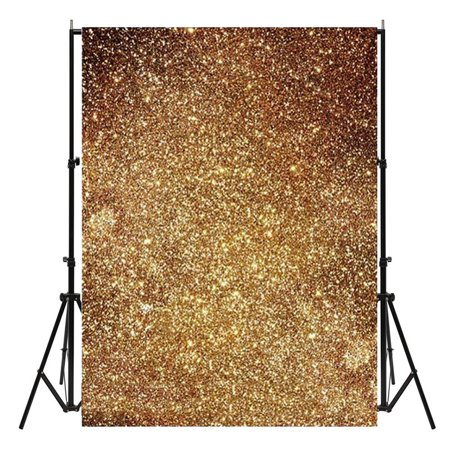 Meigar 3X5ft Golden Glitters Vinyl Photography Background Backdrop Photo Studio Props ,Black Friday Big Sale!](Glitter Chevron Background)